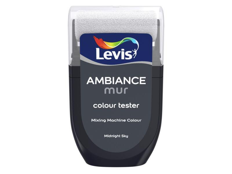 Levis Ambiance tester muurverf extra mat 30ml midnight sky