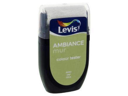 Levis Ambiance tester muurverf extra mat 30ml olijf