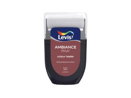 Levis Ambiance tester muurverf extra mat 30ml robijn