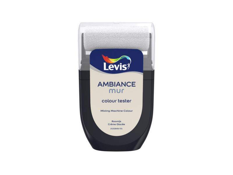 Levis Ambiance tester muurverf extra mat 30ml roomijs