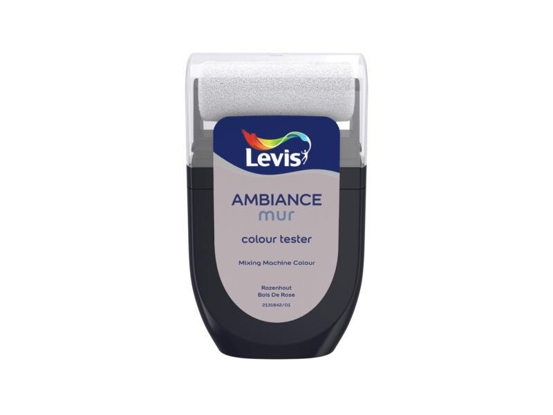 Levis Ambiance tester muurverf extra mat 30ml rozenhout