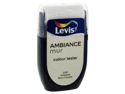 Levis Ambiance tester muurverf extra mat 30ml schelpwit