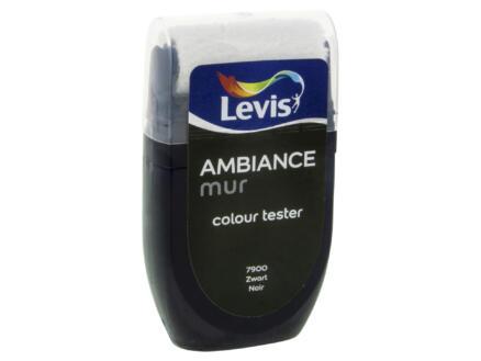 Levis Ambiance tester muurverf extra mat 30ml zwart