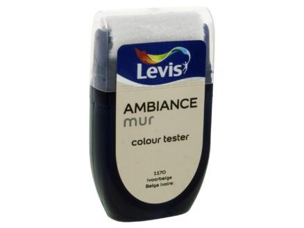 Levis Ambiance testeur peinture murale extra mat 30ml beige ivoire