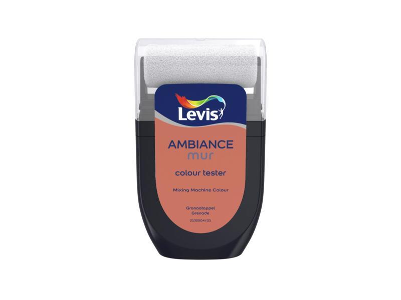 Levis Ambiance testeur peinture murale extra mat 30ml grenade