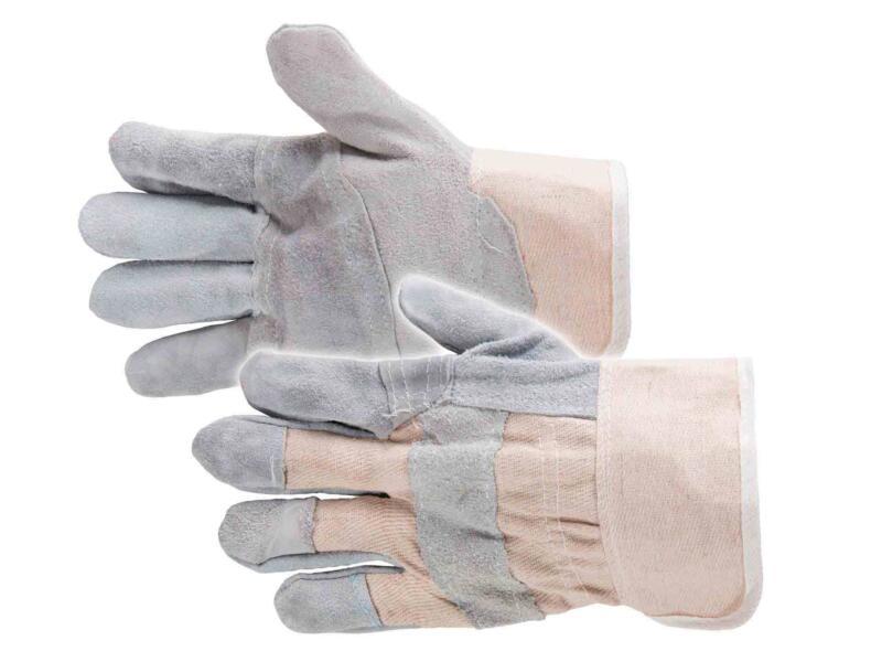 Busters American gants de travail XL cuir gris