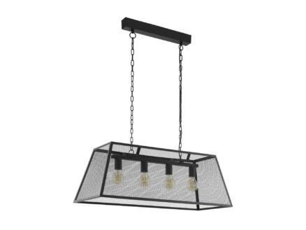 Eglo Amesbury hanglamp E27 max. 4x60 W zwart