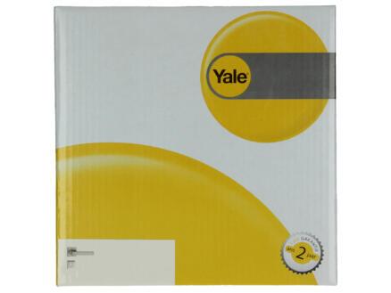 Yale Amor BB poignée de porte avec rosaces 52mm set complet nickelé mat