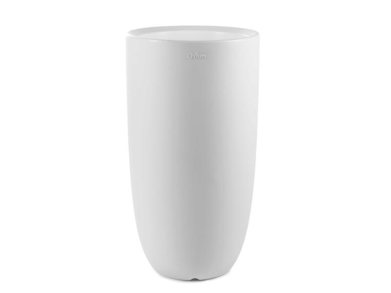 Amphora 45 pot à fleurs 35cm blanc
