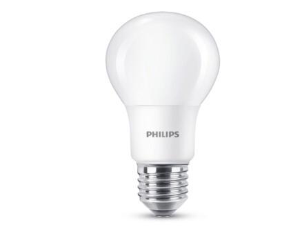 Philips Ampoule LED poire E27 8W mat 3 pièces