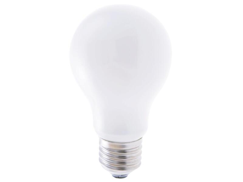 Ampoule LED poire filament verre dépoli E27 7W 4000K