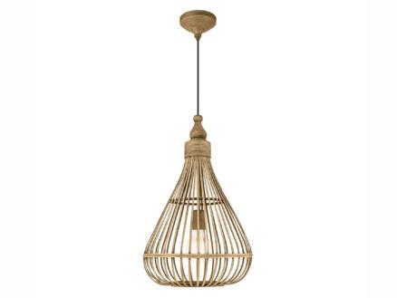 Eglo Amsfield hanglamp E27 max. 60W 35cm bruin