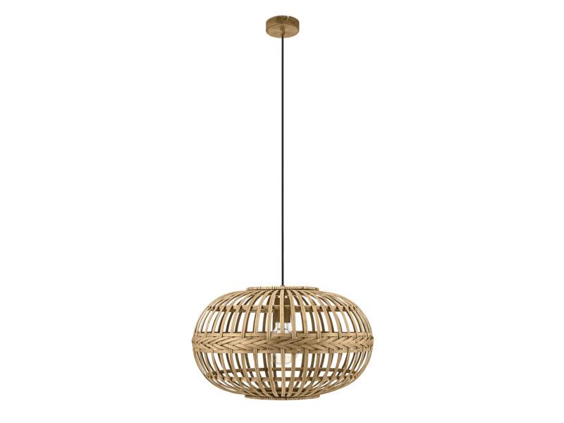 Eglo Amsfield hanglamp E27 max. 60W 38cm bruin