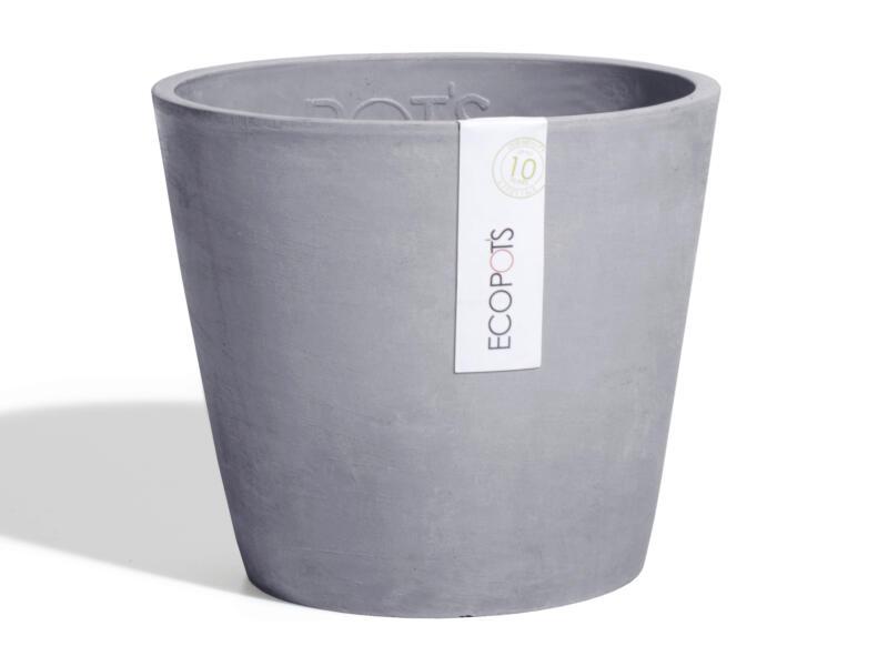 Ecopots Amsterdam pot à fleurs 20cm bluestone