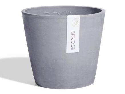 Ecopots Amsterdam pot à fleurs 30cm bluestone
