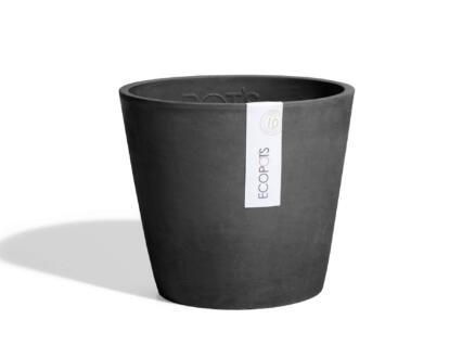 Amsterdam pot à fleurs 30cm gris foncé