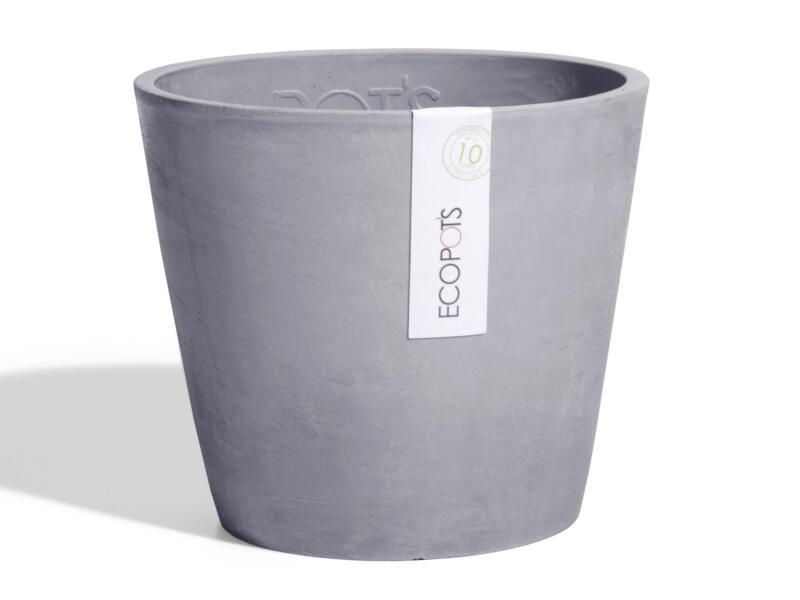 Ecopots Amsterdam pot à fleurs 50cm bluestone