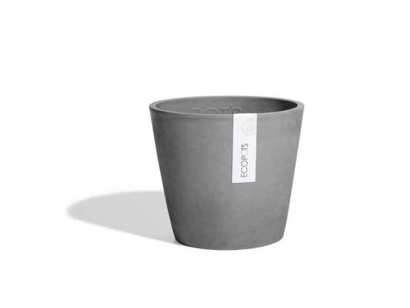 Ecopots Amsterdam pot à fleurs 50cm gris