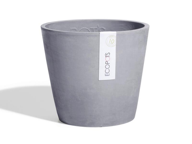 Ecopots Amsterdam pot à fleurs 60cm bluestone