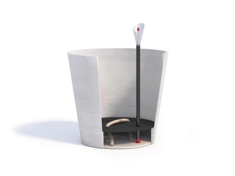Ecopots Amsterdam système d'arrosage intérieur 20cm