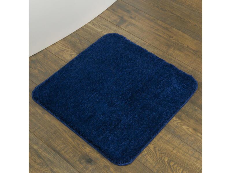 Sealskin Angora tapis de bain 60x60 cm bleu