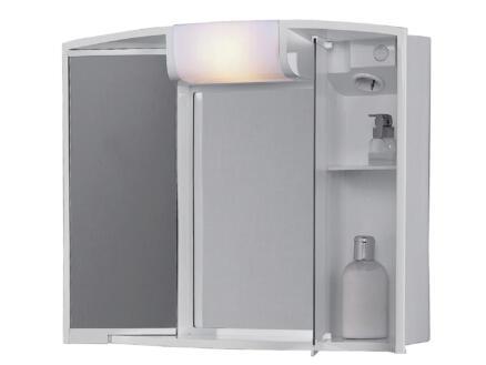 Jokey Angy armoire de toilette 59cm 2 portes miroir blanc