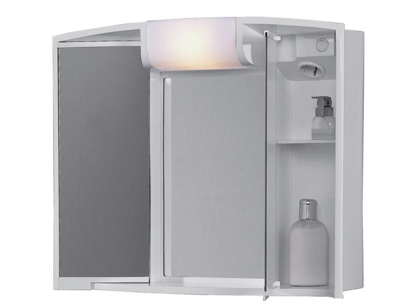 Jokey Angy spiegelkast 59cm 2 deuren wit