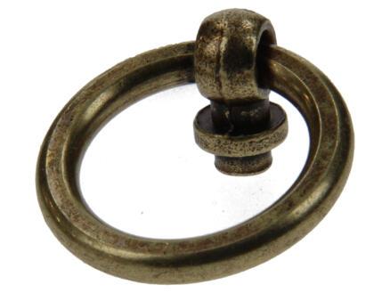 Yale Anneau de meuble 35mm bronze antique