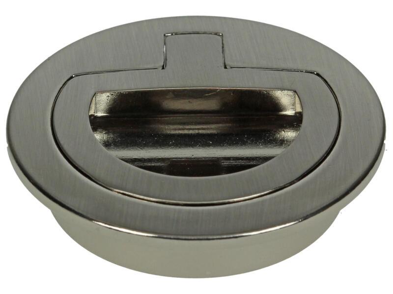 Yale Anneau de trappe 50mm inox