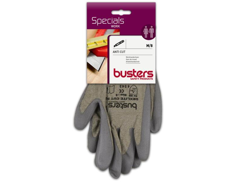 Busters Anti Cut gants de travail M PU-flex gris
