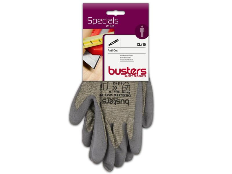 Busters Anti Cut gants de travail XL PU-flex gris