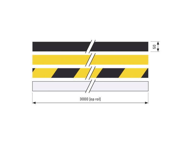 Antislip sticker op rol 3m x 50mm semi-transparant