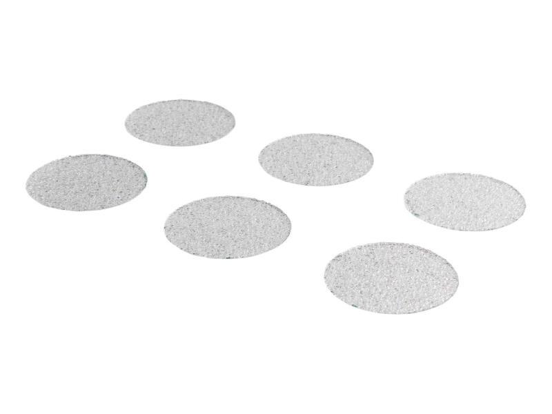 Antislip sticker rond douche en bad 35mm semi-transparant 32 stuks