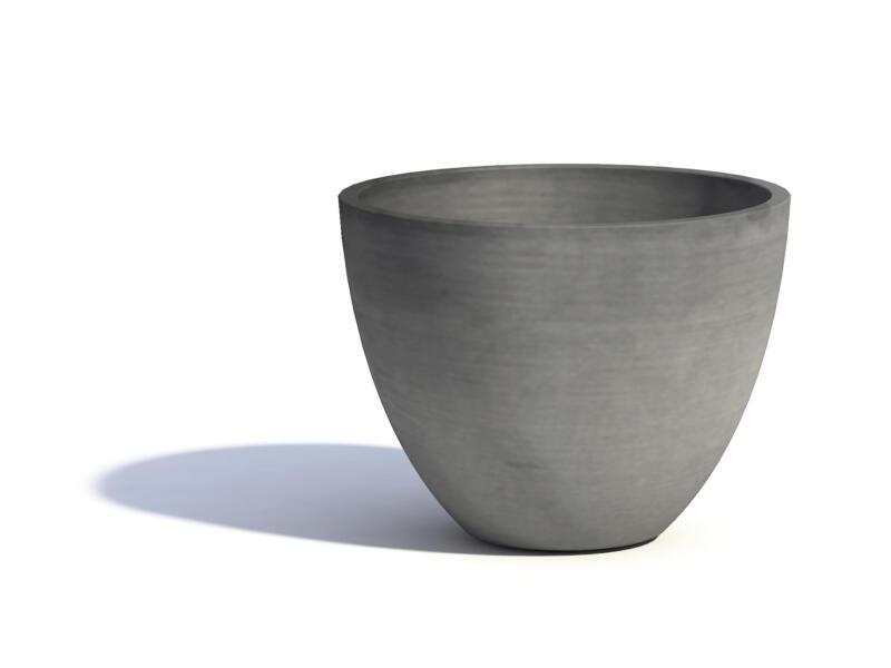 Ecopots Antwerp pot à fleurs 40cm gris