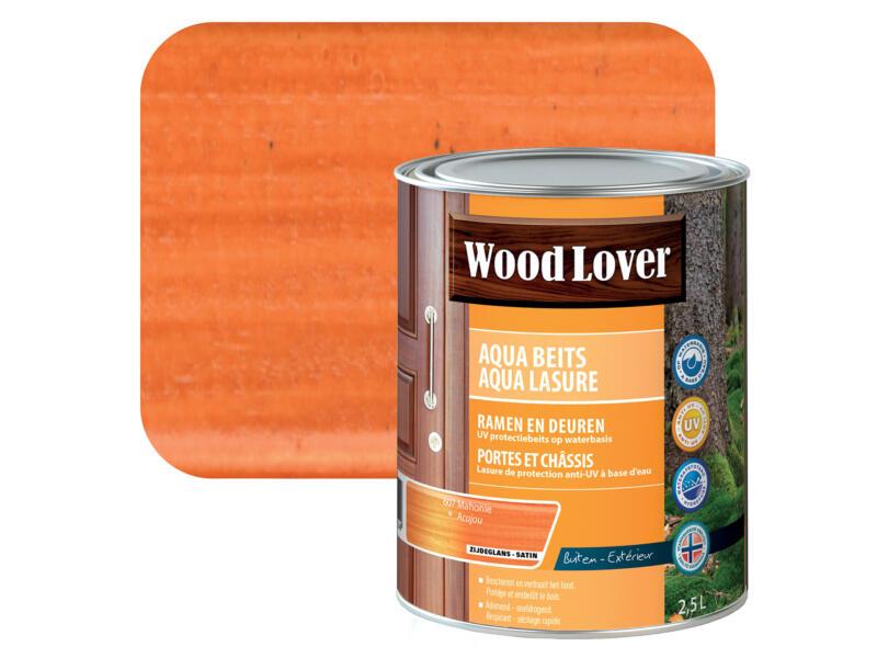 Wood Lover Aqua lasure 2,5l acajou #607