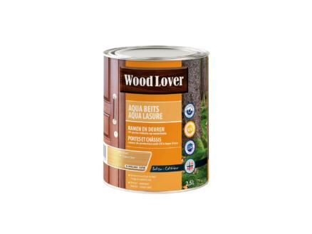 Wood Lover Aqua lasure 2,5l chêne clair #693