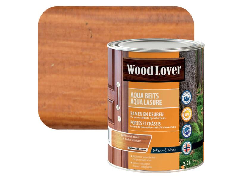Wood Lover Aqua lasure 2,5l chêne rustique #688