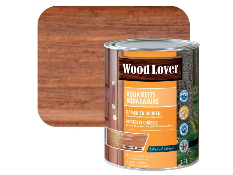Wood Lover Aqua lasure 2,5l palissandre #629
