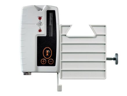 Laserliner AquaPro 120 rotatielaser + laserontvanger, statief en meetlat