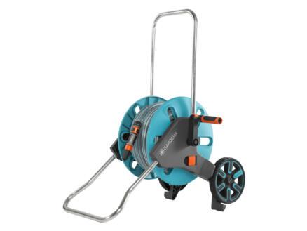 Gardena AquaRoll dévidoir sur roues avec tuyau d'arrosage 30m