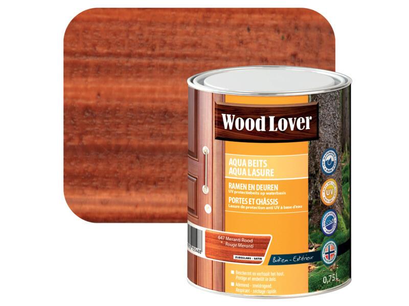 Wood Lover Aquabeits 0,75l meranti rood #647