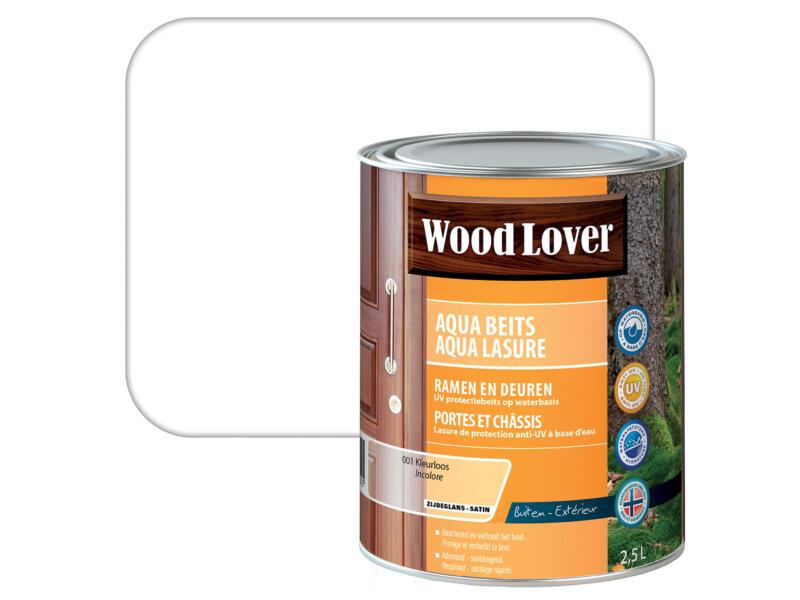 Wood Lover Aquabeits 2,5l kleurloos