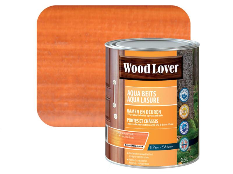 Wood Lover Aquabeits 2,5l natuurteak #603
