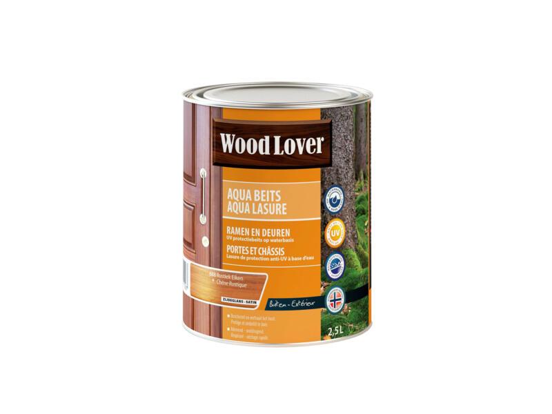 Wood Lover Aquabeits 2,5l rustiek eiken #688