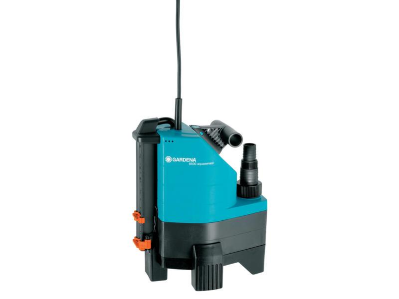 Gardena Aquasensor 8500 pompe vide-cave 380W eau chargée