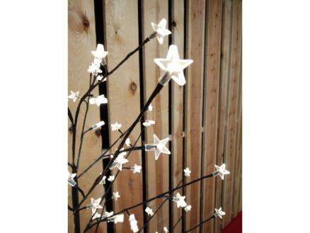 Arbre lumineux étoiles 180cm blanc chaud