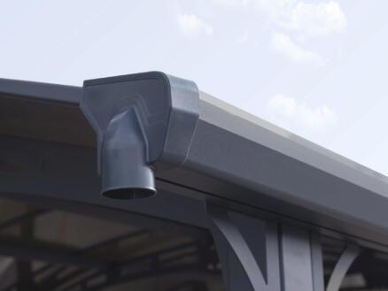 Palram Arcadia 10600 carport 359x217x1077 cm métal bronze/gris