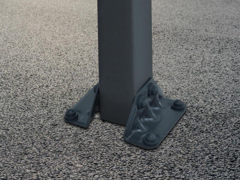 Palram Arcadia 4300 carport 359x217x435 cm metaal brons/grijs