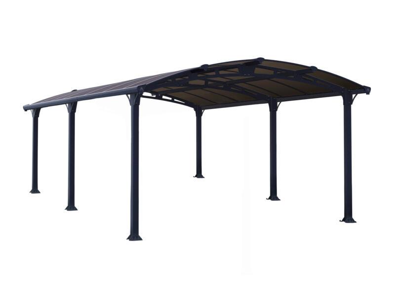 Palram Arcadia 5000 carport 359x217x507 cm métal bronze/gris