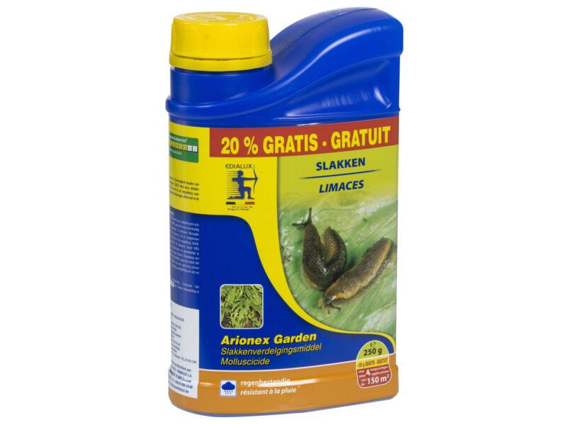 Edialux Arionex Garden granulés anti-limaces 250g + 20% gratuit